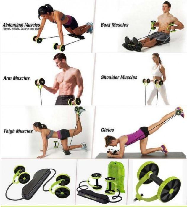 Appareil de musculation abdominal Revoflex Xtreme